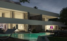 constructing luxury villa