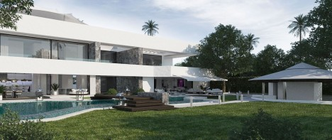 Construction of a Luxurious Villa Marbella