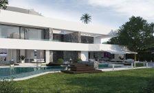 constructing Villa Marbella